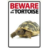 Beware Sign / Mouse Mat: Tortoise - free post (1)